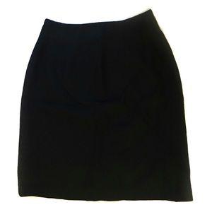 Savannah Black Skirt Size 10P 10 Petite
